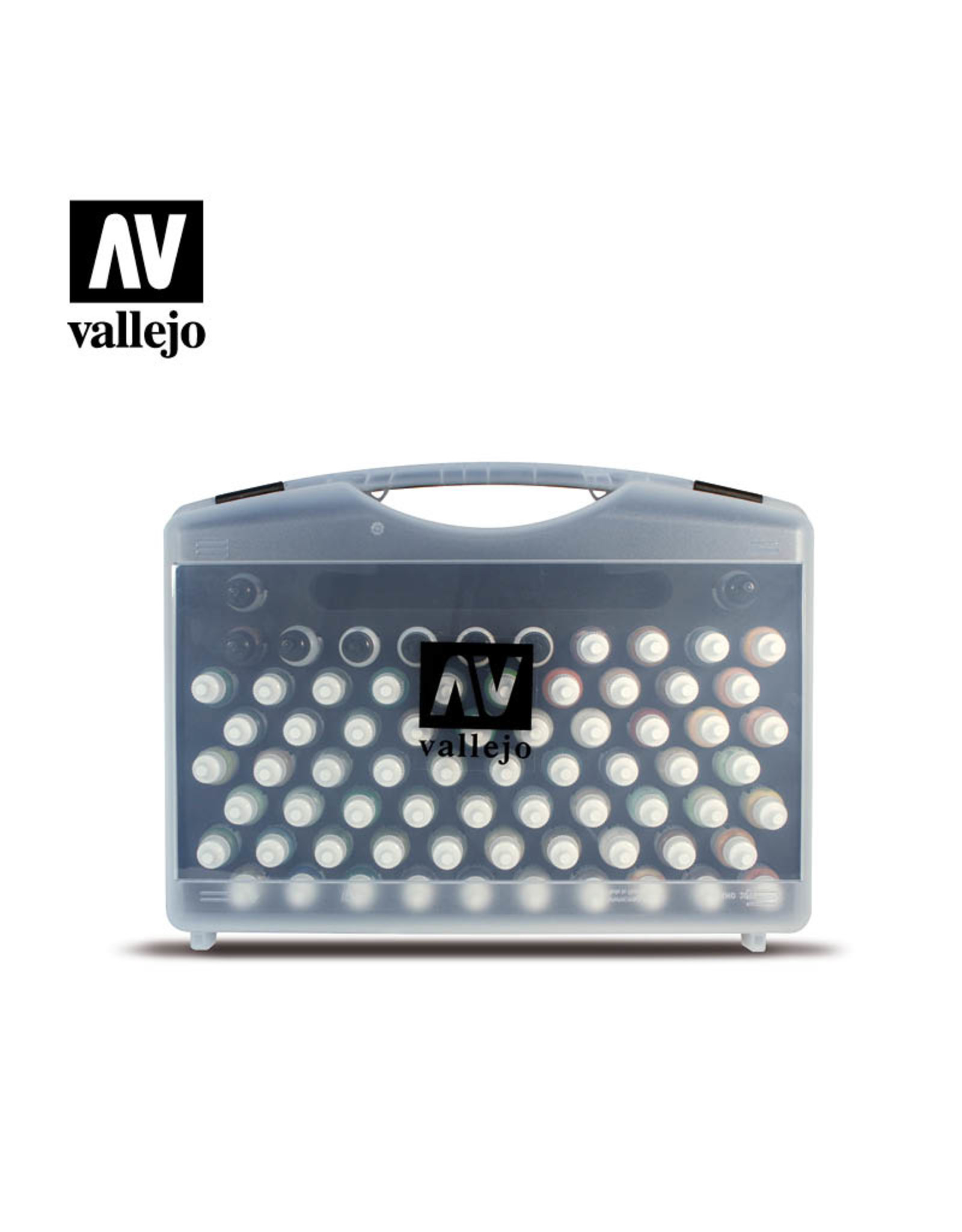 Vallejo Mecha Color Case - 80 Piece