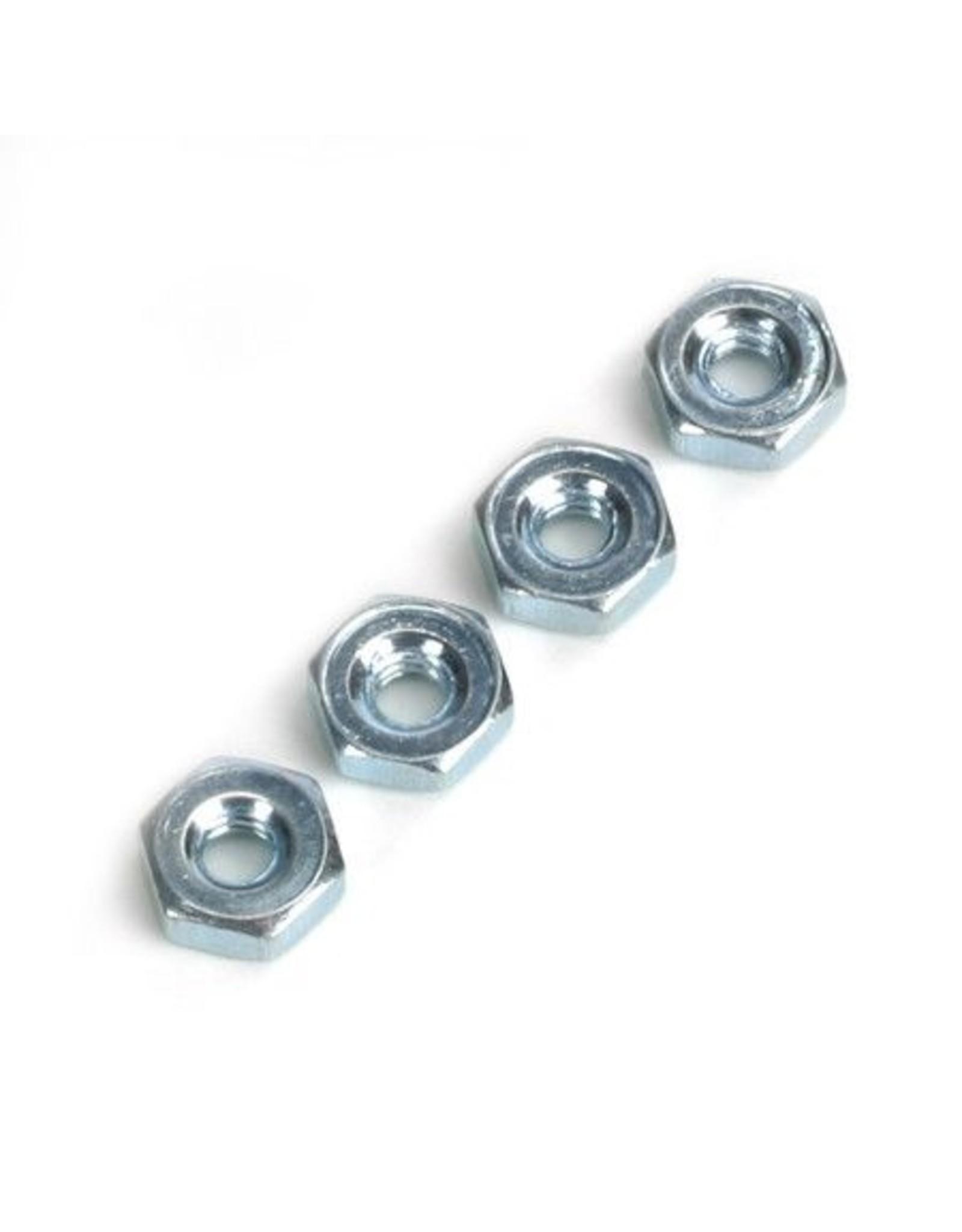 Dubro 561 - Steel Hex Nuts, 4-40 (4)