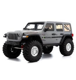 Axial 1/10 SCX10 III Jeep JLU Wrangler with Portals RTR - Gray
