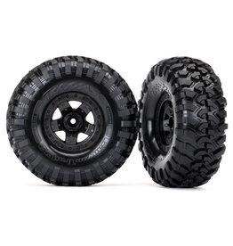 "Traxxas 8181 - TRX-4® Sport 2.2"" Wheels / Canyon Trail 5.3x2.2"" Tires"