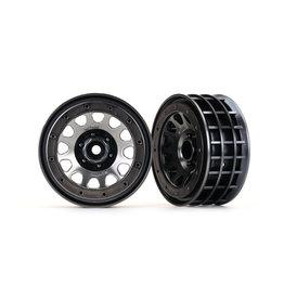 """Traxxas 8171 - Method 105 2.2"""" Black Chrome Beadlock Wheels"""