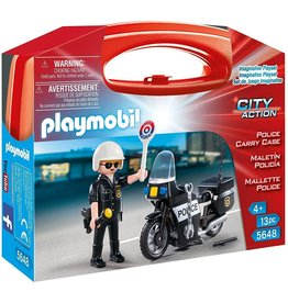 Playmobil 5648 - Carry Case - Police