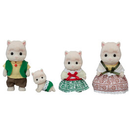 Calico Critters Woolly Alpaca Family