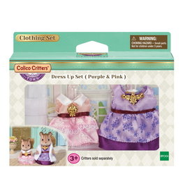 Calico Critters Dress Up Set - Purple & Pink