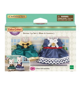 Calico Critters Dress Up Set - Blue & Green