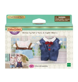 Calico Critters Dress Up Set - Navy & Light Blue