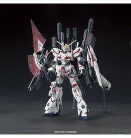 Bandai #199 RX-0 Full Armor Unicorn Gundam (Destroy Mode / Red Color Ver.)