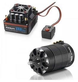 HobbyWing 38020424 - XR8 PLUS Combo (XR8 + 4268SD 2200kv G2)
