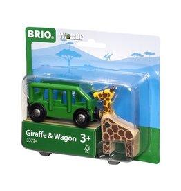 Brio Giraffe & Wagon