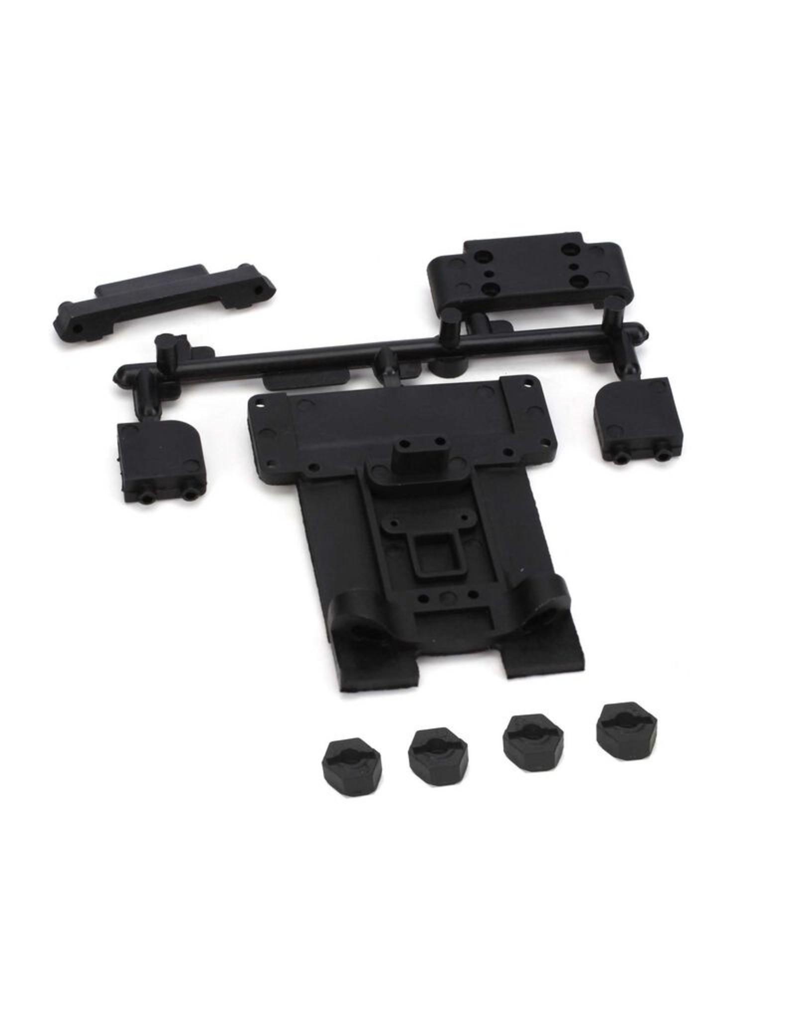 ECX 1092 - Front/Rear Suspension Mount Set: 1/10 2WD Circuit, Boost