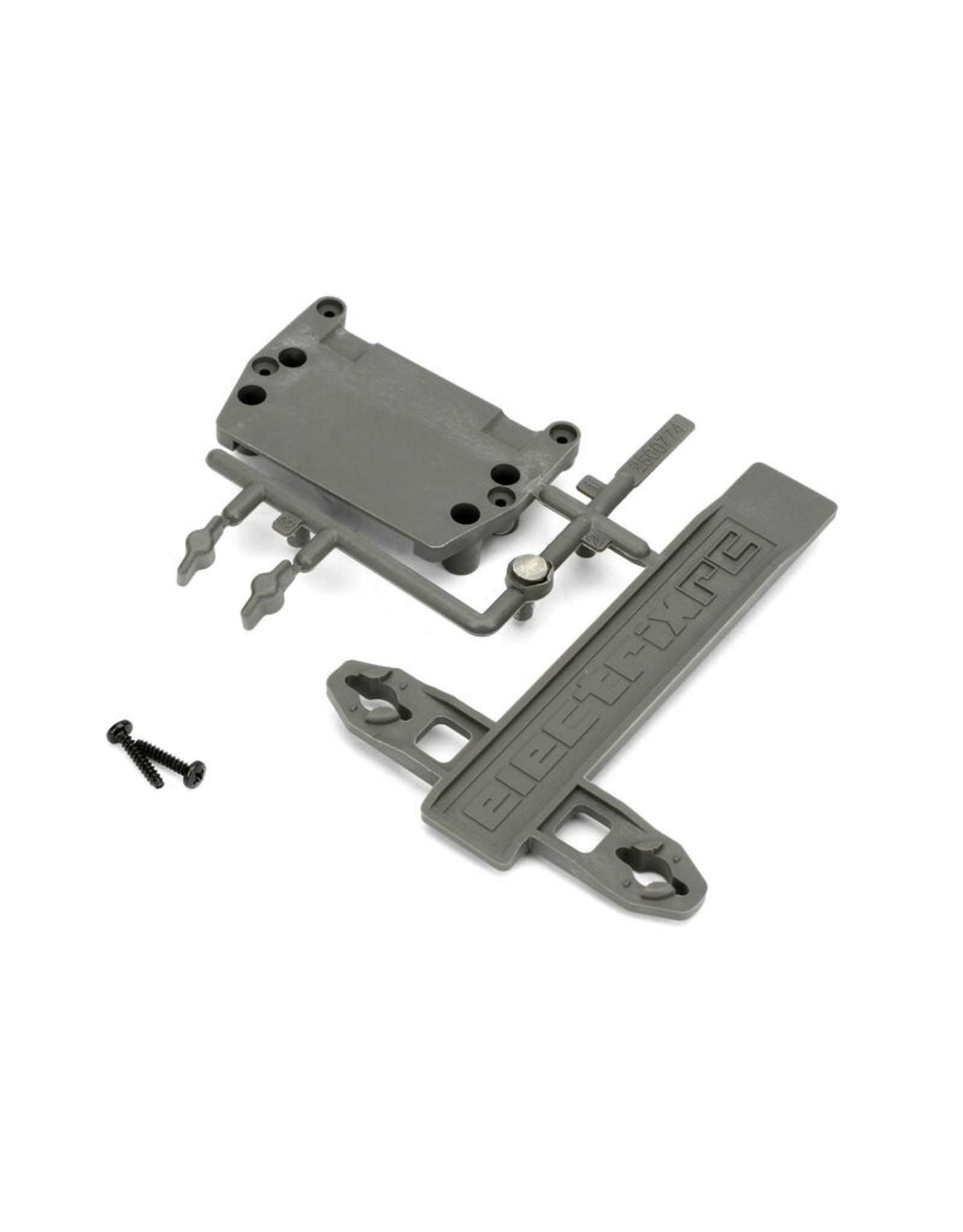 ECX 1088 - Battery Strap, ESC Plate: 1/10 2WD Circuit, Boost