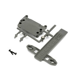 ECX 1088 - Battery Strap, ESC Plate: 1/10 2WD Circuit, Boost