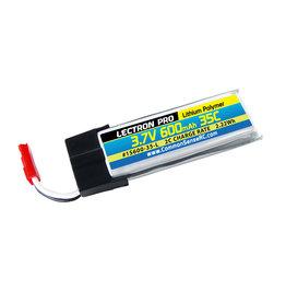 Common Sense RC 1S600-35-L - 3.7V 600mAh 35C LiPo w/JST