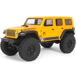Axial AXI00002T2 - SCX24 2019 Jeep Wrangler JLU CRC 1/24 4WD - Yellow