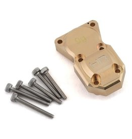 Hot Racing HRASCXF12CH- 9g Brass Diff Cover SCX24