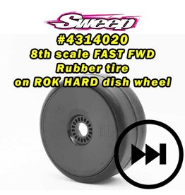 SWEEP 4314014 - GT2 Drag 1/8 Belted Black Spoke