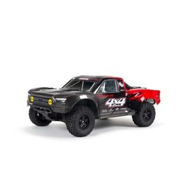 Arrma 1/10 SENTON 4X4 V3 MEGA 550 Brushed Short Course Truck RTR - Red