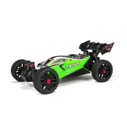 Arrma 1/10 TYPHON 4X4 V3 MEGA 550 Brushed Buggy RTR - Green