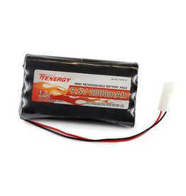 Tenergy 11401-01 - 9.6V 2000mAh NiMH High Capacity RC Toy Battery