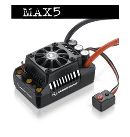 HobbyWing 30104000 - EZRUN Max5 Brushless Speed Controller