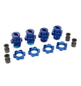 Traxxas 5853X - Wheel Hub Set, 17mm - Blue