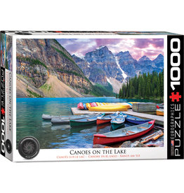 Eurographics Canoes on the Lake - 1000 Piece Puzzle