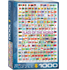 Eurographics Flags of the World - 1000 Piece Puzzle