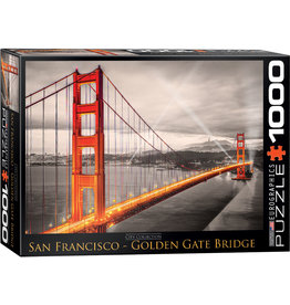 Eurographics Golden Gate Bridge - 1000 Piece Puzzle