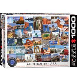 Eurographics Globetrotter - USA - 1000 Piece Puzzle