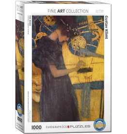 Eurographics The Music by Gustav Klimt - 1000 Piece Puzzle