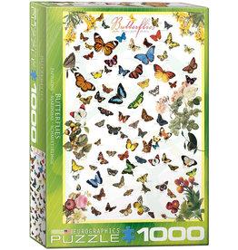 Eurographics Butterflies - 1000 Piece Puzzle
