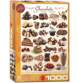 Eurographics Chocolate - 1000 Piece Puzzle