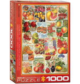 Eurographics Fruit Seed Catalog Covers - 1000 Piece Puzzle