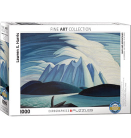 Eurographics Lake and Mountains - 1000 Piece Puzzle