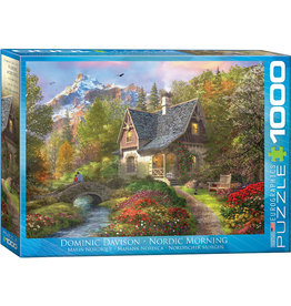 Eurographics Nordic Morning - 1000 Piece Puzzle