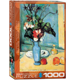 Eurographics Blue Vase by Paul Cezanne - 1000 Piece Puzzle