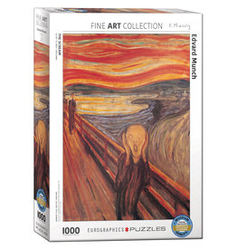 Eurographics The Scream by Edvard Munch - 1000 Piece Puzzle