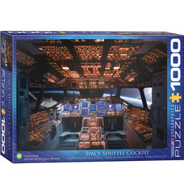 Eurographics Columbia Space Shuttle Cockpit - 1000 Piece Puzzle