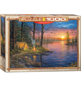 Eurographics Evening Mist by Abraham Hunter - 1000 Piece Puzzle