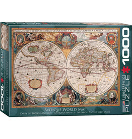 Eurographics Orbis Geographica World Map - 1000 Piece Puzzle