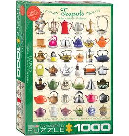 Eurographics Teapots - 1000 Piece Puzzle