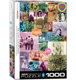 Eurographics 60's Love Collection - 1000 Piece Puzzle
