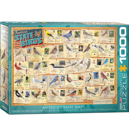 Eurographics American State Birds - 1000 Piece Puzzle
