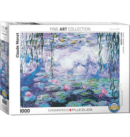Eurographics Waterlillies by Claude Monet - 1000 Piece Puzzle