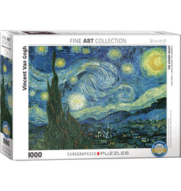 Eurographics Starry Night by Vincent van Gogh - 1000 Piece Puzzle