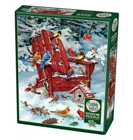 Cobble Hill Adirondack Birds - 1000 Piece Puzzle