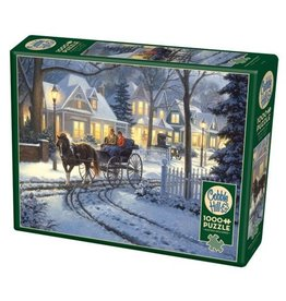 Cobble Hill Horse Drawn Buggy - 1000 Piece Puzzle