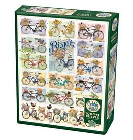 Cobble Hill Bicycles - 1000 Piece Puzzle