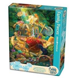 Cobble Hill Candy Cottage - 350 Piece Puzzle