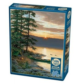 Cobble Hill Canoe Lake - 500 Piece Puzzle